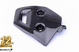 BMW F800GS 2008 - 2012 100% Carbon Fiber Heel Guard Right