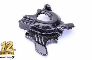 BMW F800GS 2008 - 2012 100% Carbon Fiber Sprocket Chain Cover