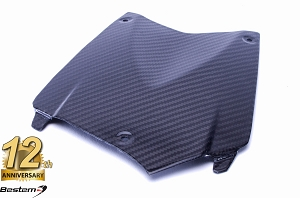 BMW K1200R 100% Carbon Fiber Center Tank Cover Pad, Twill Weave ,
