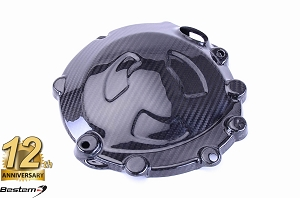 BMW S1000RR HP4 2009 - 2018 S1000R S1000XR 100% Carbon Fiber Racing Engine Cover Right, Twill Weave