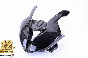 BMW S1000RR 100% Carbon Fiber Head Cowl, Racing, , Twill, Special Order Only