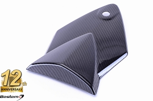 BMW S1000RR HP4  100% Carbon Fiber Replacement Passenger Seat Top Cover, Twill Weave