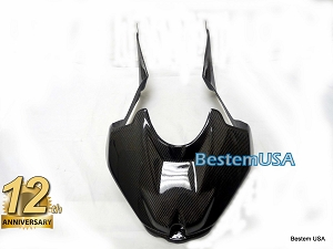 BMW S1000RR 100% Carbon Fiber Racing Tank Cover, Twill Weave ,