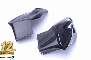 BMW S1000XR 2015 - 2016 100% Carbon Fiber Belly Pan, Twill