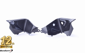 BMW S1000XR 2015 - 2016 100% Carbon Fiber Front Dash Trim Fairing, Twill