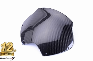 Can-Am Spyder RS 100% Carbon Fiber Windshield, Twill Weave ,