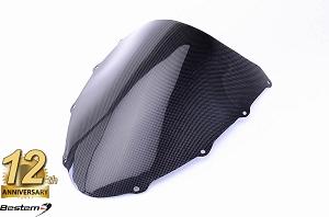 Ducati 848 1098 1198 100% Carbon Fiber Windshield,