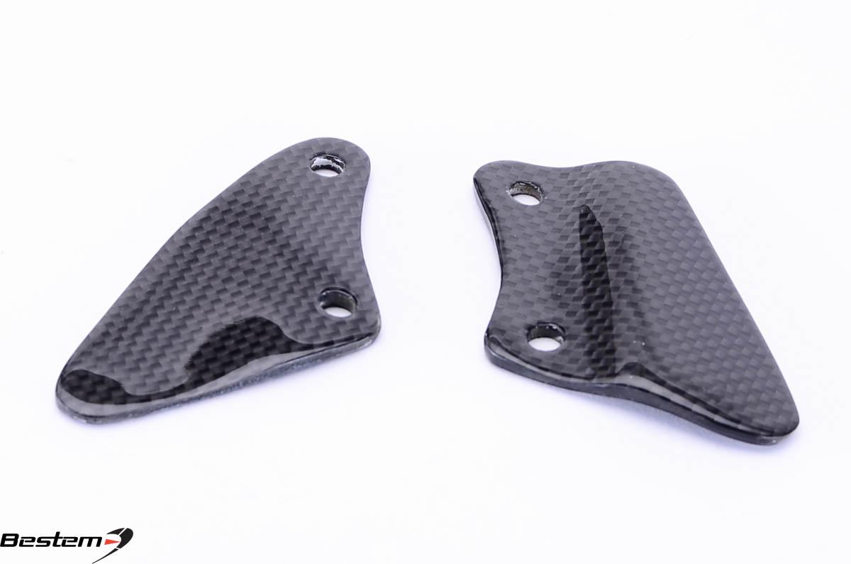Bmw r1100s 100 carbon fiber heel guard plates Hgd stock price