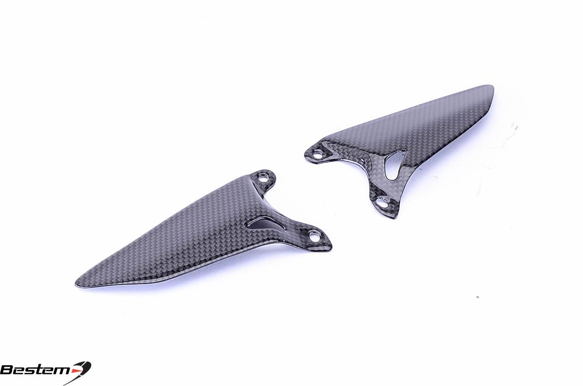 Ducati 848 1098 1198 100 carbon fiber heel guards Hgd stock price
