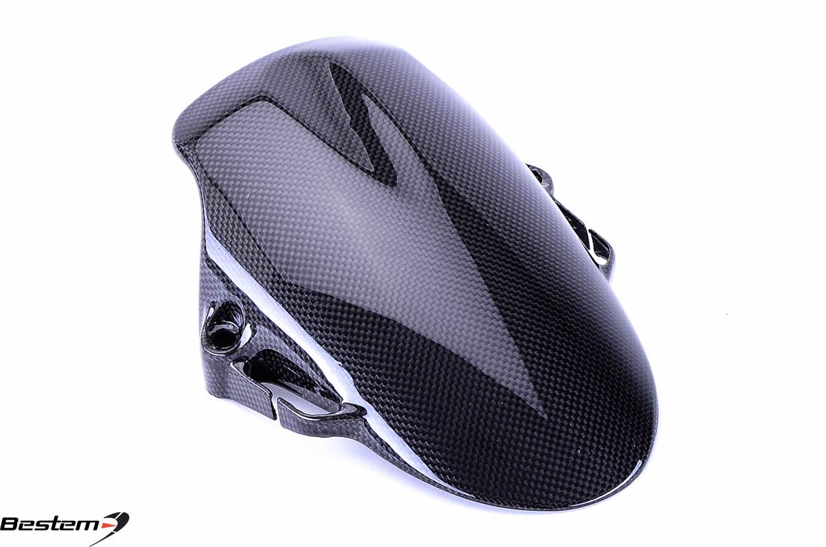 ducati hypermotard 796 1100 100 carbon fiber front fender. Black Bedroom Furniture Sets. Home Design Ideas