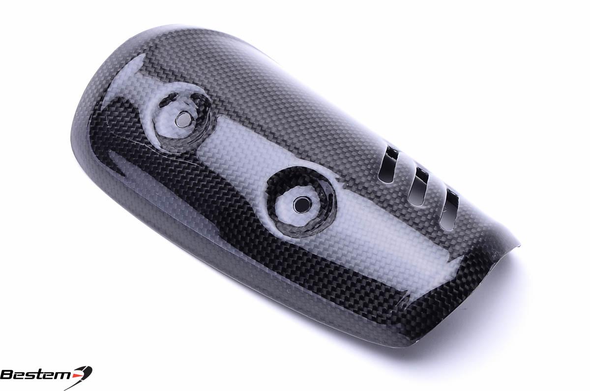 Yamaha fz  carbon fiber exhaust cover