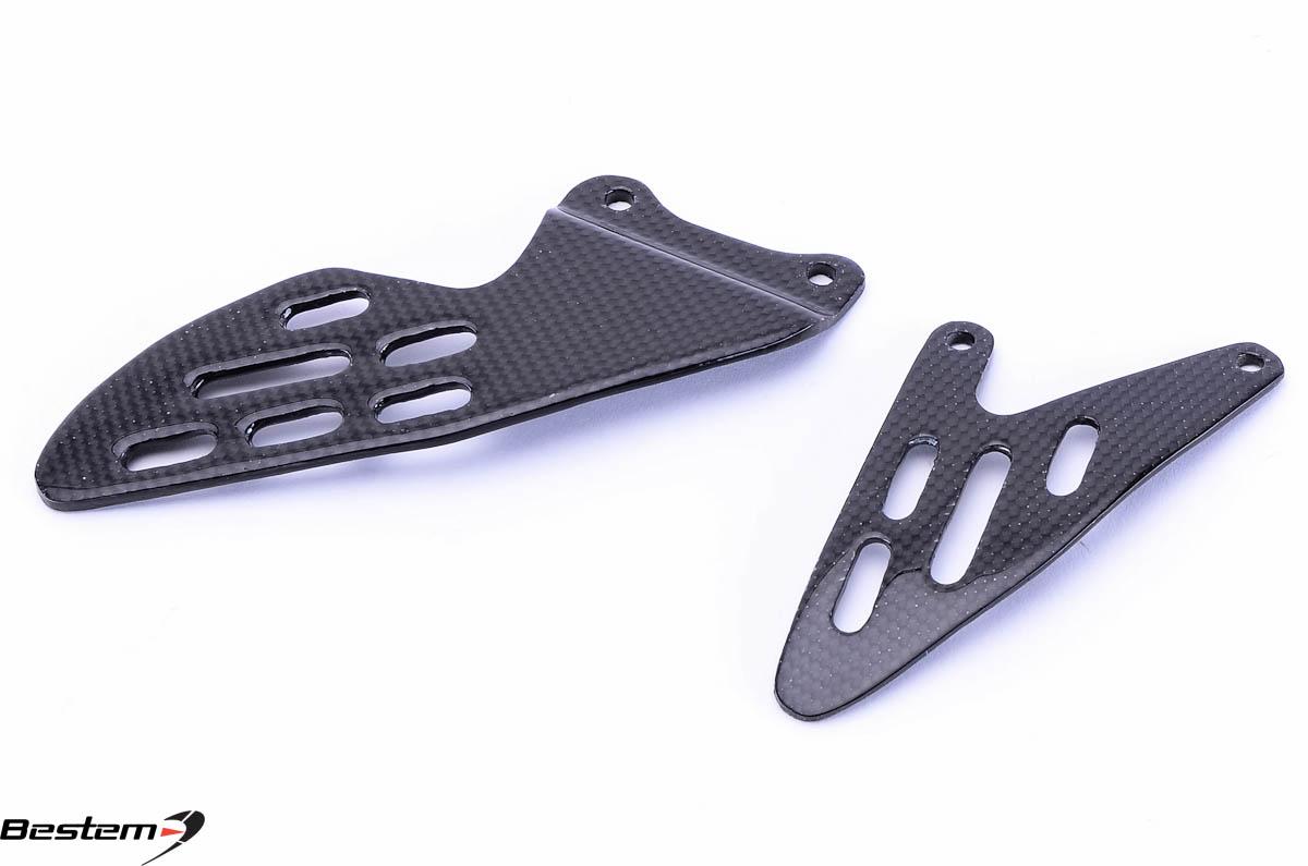 Yamaha yzf r1 2007 2008 100 carbon fiber heel guard plates Hgd stock price