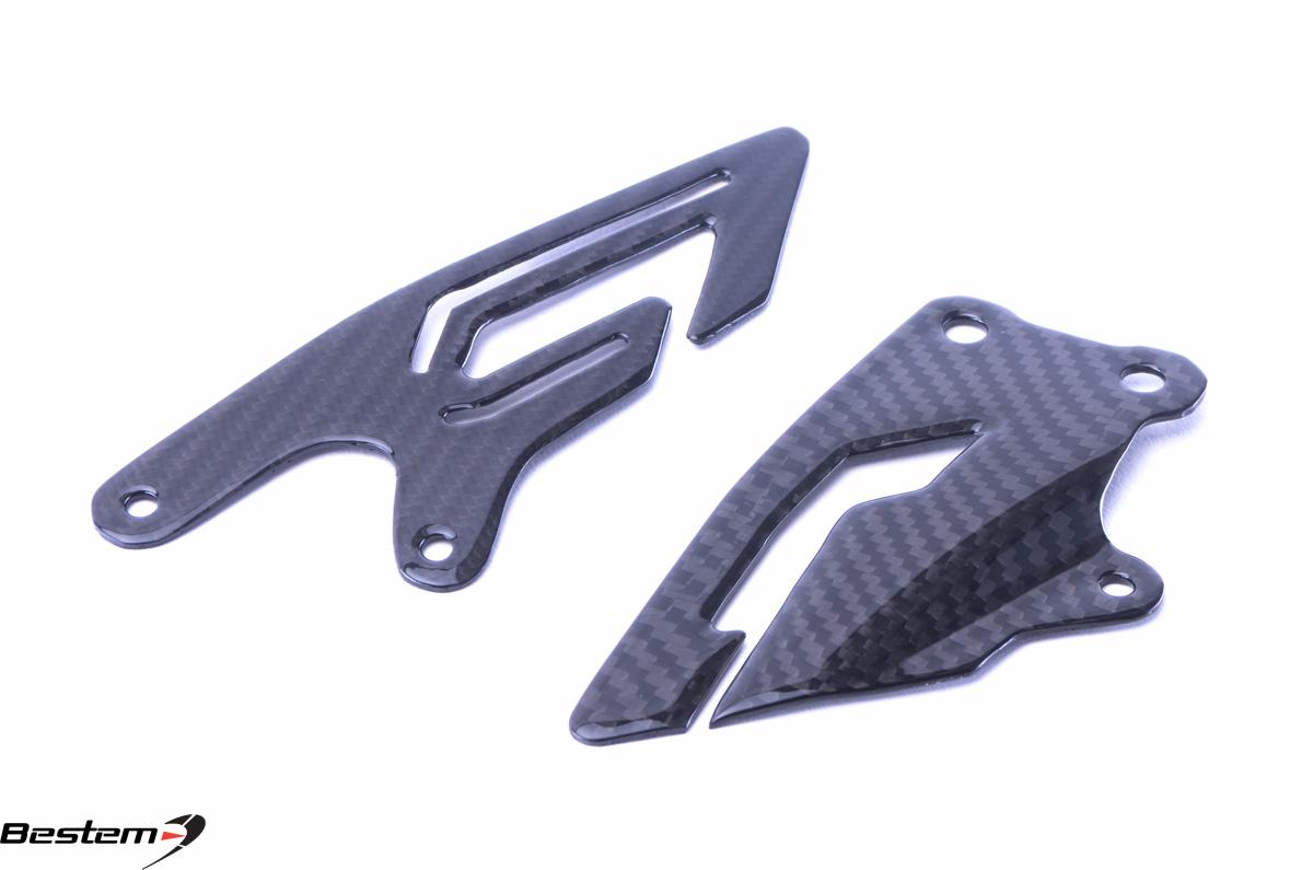 Yamaha r1 2015 2017 100 carbon fiber heel guards twill Hgd stock price