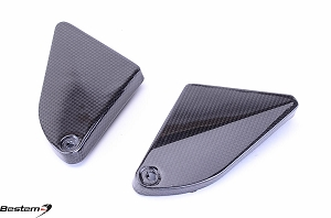 BMW F800GS 2008 - 2012 F700GS F650GS Carbon Fiber Inner Side Covers