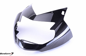 BMW K1200S Carbon Fiber Head Cowl