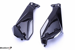 BMW R1200GS 2013 Carbon Fiber Knee Fairing Inserts 2pcs