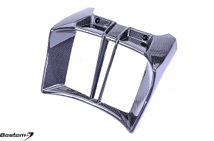 BMW R1200R Carbon Fiber Radiator Cover