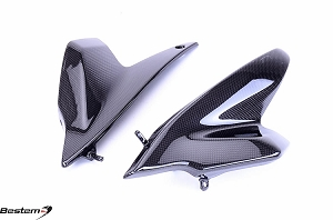 BMW R1200R Carbon Fiber Side Panels