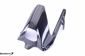 BMW S1000RR HP4 2009 - 2015 S1000R 2014 - 2015 100% Carbon Fiber Real Hugger with Chain Guard, Twill Weave