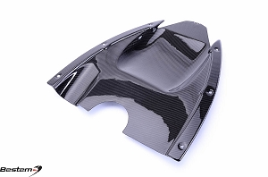 Can-Am Spyder RS Carbon Fiber Undertail, Twill Weave
