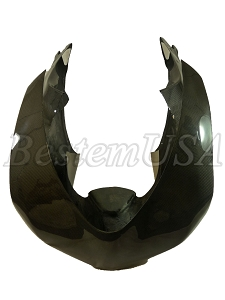 Ducati 848 1098 1198 Carbon Fiber Racing Head Cowl Front Fairing
