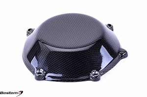 Ducati Carbon Fiber Dry Clutch Cover, Closed Style