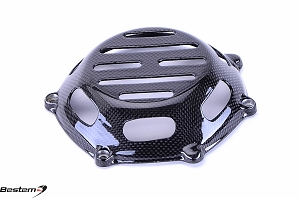 Ducati Carbon Fiber Dry Clutch Cover, Open Style 1 ,100%