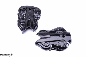 Ducati Diavel 2011 - 2013 Carbon Fiber Belt Covers