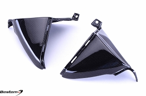 Honda CBR600RR 2007 - 2012 Carbon Fiber Side Body Panels