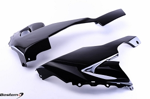 Kawasaki ZX10R 2008 - 2010 100% Carbon Fiber Side Panels 2
