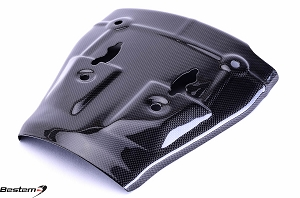 Kawasaki ZX6R 2005 - 2006 Carbon Fiber Heat Shield Lower