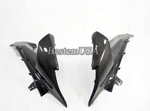 Suzuki GSXR1000 2009 - 2014 Carbon Fiber Side Panels 1 ,100%