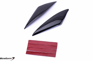 Suzuki GSXR1000 2005 - 2006 100% Carbon Fiber Side Tank Panels with Tape