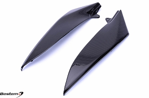 Yamaha YZF R1 2004 - 2006 Carbon Fiber Side Panels Upper