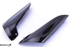 Yamaha YZF R1 2007 - 2008 Carbon Fiber Upper Heat Shield Cover