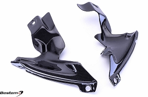 Yamaha YZF R1 2007 - 2008 Carbon Fiber Side Panels Lower