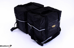 BMW R1150GS Adventure Saddlebag Sideliners Side Case Trunk Liners Bags, Black