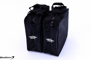 Harley Davidson Heritage Softail Saddlebag Sideliners Side Case Trunk Liners Bags, Black