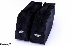 Harley Davidson Road King Saddlebag Sideliners Side Case Trunk Liners Bags, Classic, Black