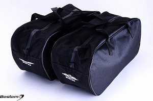 Harley Davidson Road King Saddlebag Sideliners Side Case Trunk Liners Bags,Custom, Black