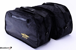 Honda ST1100 PanEuropean Saddlebag Sideliners Side Case Trunk Liners Bags, Black