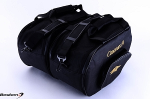 Kawasaki Concours 14 GTR1400 Saddlebag Sideliners Side Case Tunk Liners Bags, Deluxe, Black With Padded Walls for Extra Protection