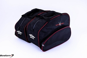 Victory Vision Saddlebag Sideliners Side Case Trunk Liners Bags,Balck