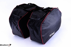 Victory Cross Roads Cross Country Saddlebag Sideliners Side Case Trunk Liners Bags,Balck
