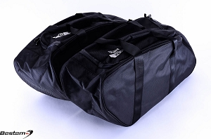 Yamaha Road Star Saddlebag Sideliners Side Case Trunk Liners Bags,Balck
