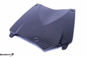 BMW K1200R Carbon Fiber Center Tank Cover Pad, Twill Weave ,100%