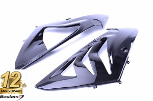 BMW S1000RR 2012-2014  100% Carbon Fiber Side Fairings Twill Weave