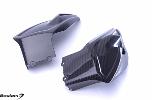 BMW S1000XR 2015 - 2016 Carbon Fiber Belly Pan, Twill