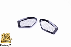 Ducati Monster 696/796/1100 Ram Air Vent Covers For Fuel Tank Cover Carbon Fiber