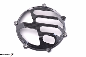 Ducati Press Mold Carbon Fiber Dry Clutch Cover, Open Style 6